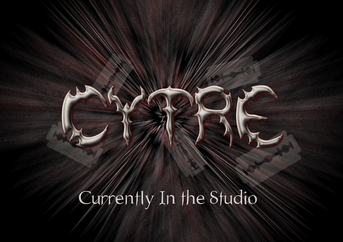 Cytre currently in the studio